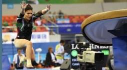Alexa Moreno gana bronce en Copa del Mundo en Bakú
