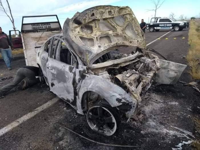Espera Fiscalía análisis forense de accidente carretero en #BahíaKino