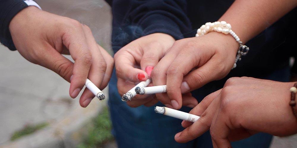 Tabaco de mascar hipertensión arterial