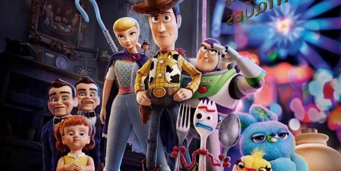 Oro en taquilla para Toy Story 4