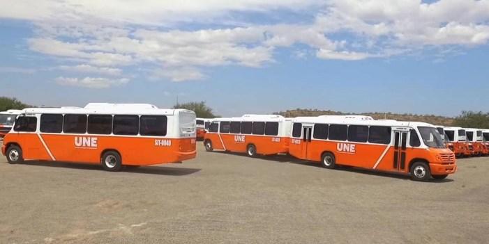 Incorporan nuevas unidades al Plan operativo de transporte