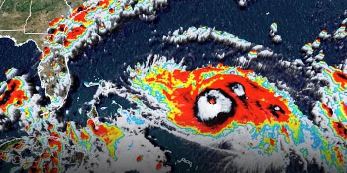Con categoría 2 Dorian avanza hacia noroeste en el Atlántico