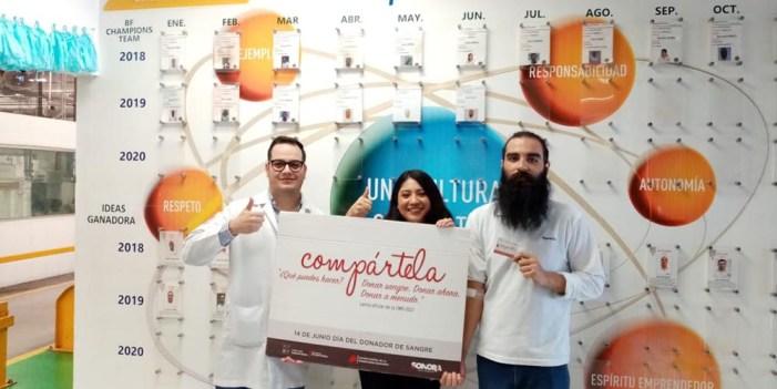Es Sonora líder nacional por donación voluntaria de sangre