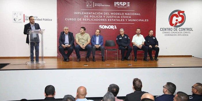 Policías estatales y municipales serán replicadores en Justicia Cívica