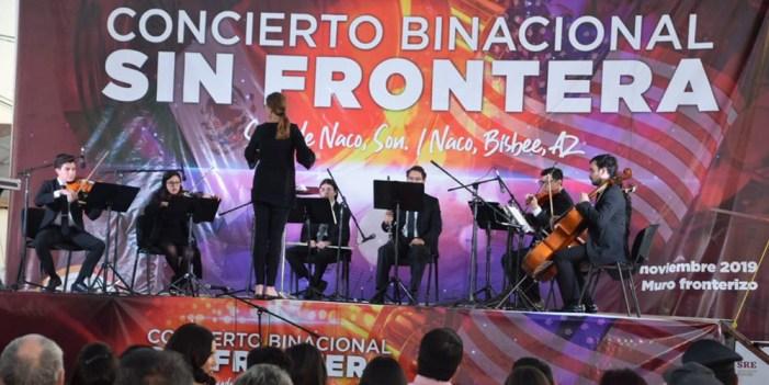 """Sonora y Arizona estrechan lazos de hermandad en concierto binacional """"Sin frontera"""""""