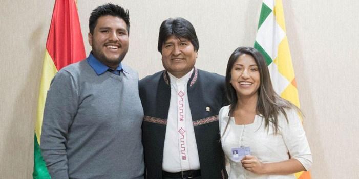 Evo Morales; tensiones políticas en México