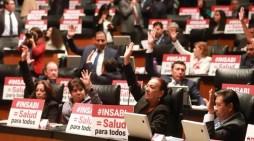 Senadores avalan crear el Instituto nacional de salud para el bienestar