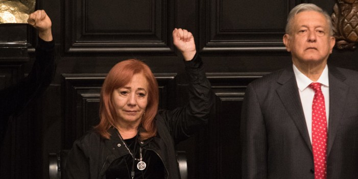 Rosario Piedra Ibarra, nueva presidenta de CNDH