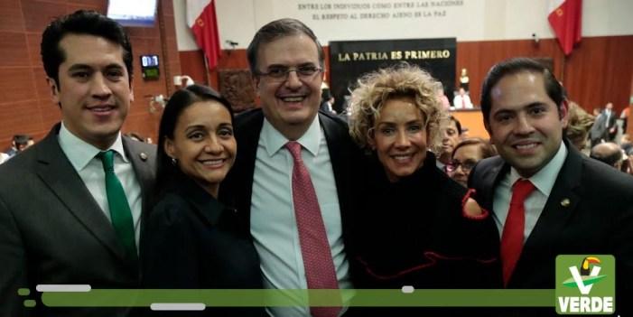 Celebra Partido Verde acuerdo de cooperación ambiental