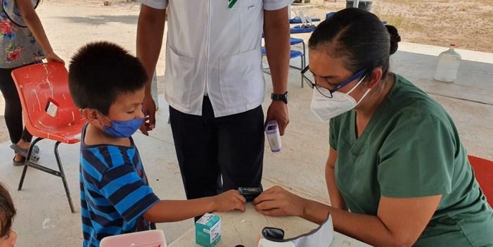 Acerca Salud Sonora servicios médicos a sector rural en Guaymas