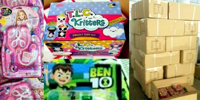 Decomisan 67 mil juguetes en Aduana de Ensenada