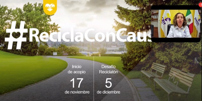 Apoyará Cedes programa de reciclaje a favor de #Teletón2020