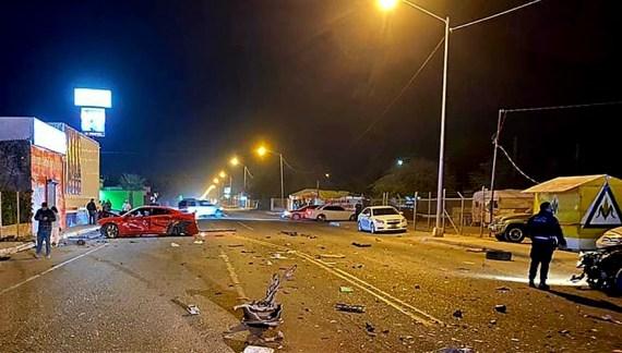Muere automovilista en choque múltiple