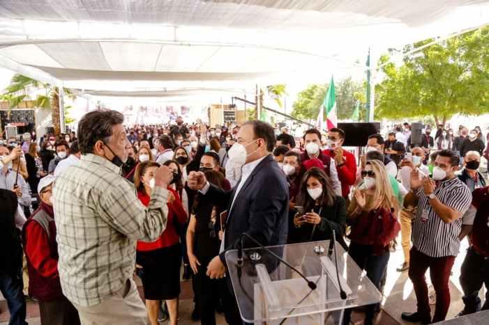 Representamos la esperanza de cambio: Alfonso Durazo