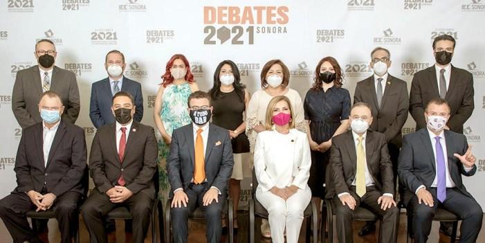 Pierde Sonora 13 minutos 20 segundos de #Debate: IEE