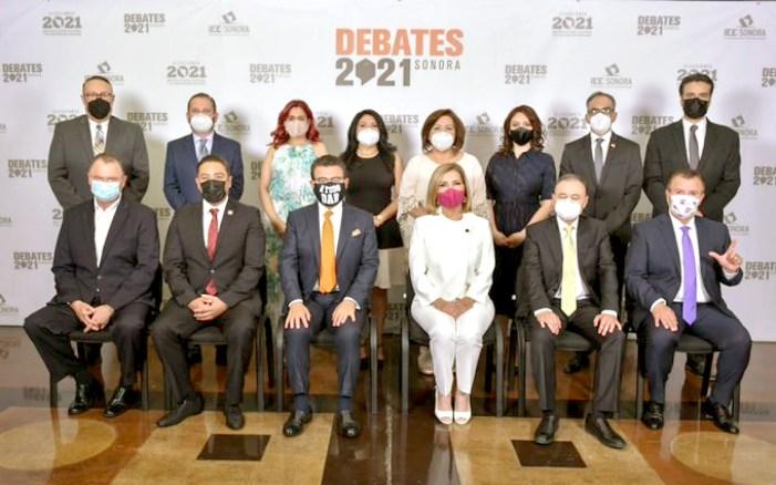 Primer debate 2021 – Para gobernador (a)