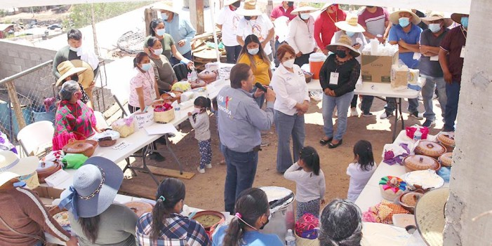 Se suma comunidad Mazahua a proyecto de Freig Carrillo