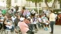 Se reúne Jorge Freig con vecinos de Casas Palenque