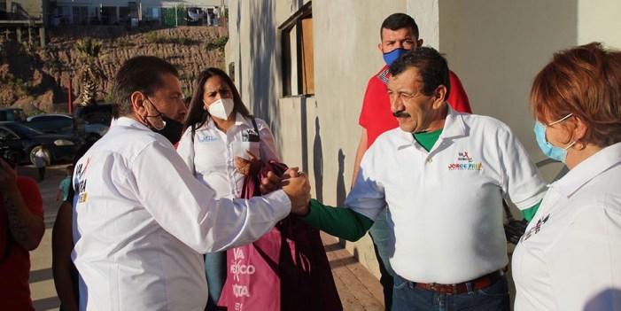 Respaldan sindicalizados candidatura de Freig Carrillo