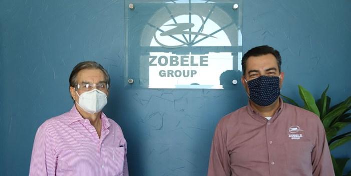 Atestigua secretario de Economía expansión de planta Zobele en Hermosillo