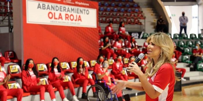 Ola Roja arranca viaje a Juegos Nacionales Conade 2021