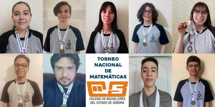 Cobach Sonora conquista primer lugar en torneo nacional de Matemáticas