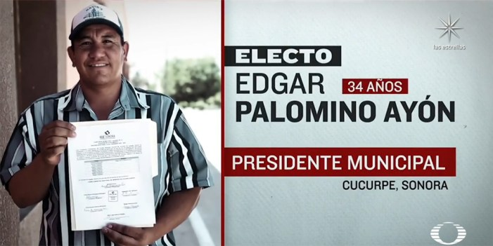 "Alcalde electo de Cucurpe recibe ""tiro de gracia"""