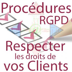 Procédure - répondre aux demandes de respect des droits des clients