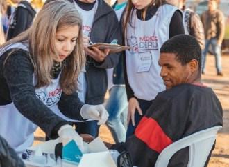 Quarta ação do projeto 'Médicos de Rua' acontece neste domingo (8)