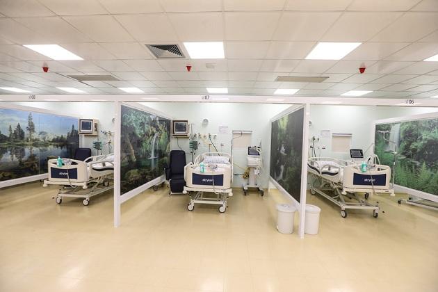 70% dos leitos de UTI destinados à Covid-19 no Hospital Universitário estão ocupados