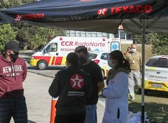 CCR RodoNorte recebe ação da Carreta Texaco na BR-277