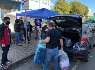 Grupos de Escoteiros de PG se unem para ação beneficente