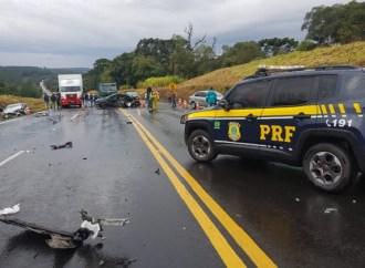 Terceira morte é confirmada em acidente  na BR-277 em Teixeira Soares
