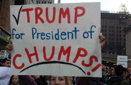 Trump for President of Chumps!