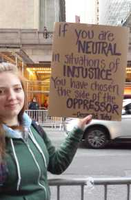 If you are neutral in situations of injustice, you have chosen the side of the oppressor. - Desmond Tutu