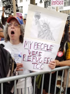 My people were refugees too.