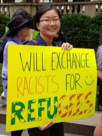 Will exchange racists for refugees