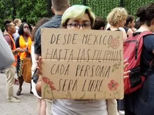 Desde México hasta las Filipinas cada persona será libre