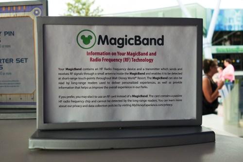MagicBand注意書き