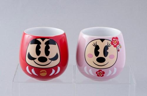 ゆのみセット 1600円 (c)Disney