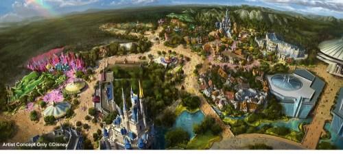 TDL Fantasyland 10 22 2014 Full Revision (c)Disney Disney Postより引用