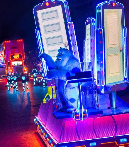 Sulley in Paint the Night/As to Disney photos, logos, properties: (c)Disney