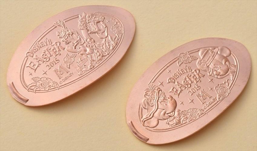 東京ディズニーシー・ホテルミラコスタ期間限定デザインのスーベニアメダル (c)Disney