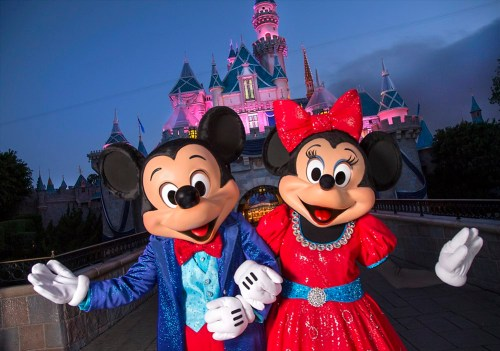 Mickey and Minnie (c)Disney