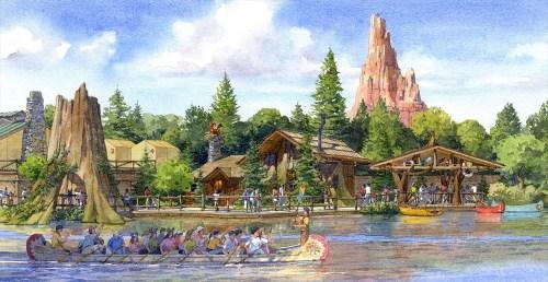 「新キャラクターグリーティング施設」(イメージ) (c)Disney