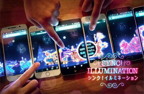 「SYNC!ILLUMINATION (シンク!イルミネーション)」 (イメージ) (c)Disney
