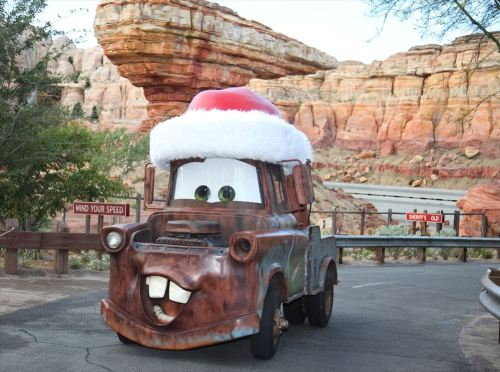 Cars Land Just Gets Merrier  As to Disney artwork, logos and properties:©Disney