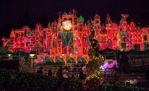 イッツ・ア・スモールワールド ホリデー As to Disney artwork, logos and properties:©Disney