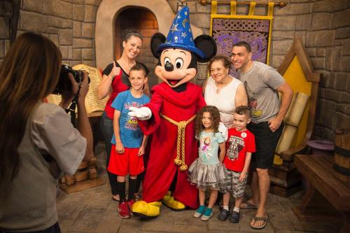 Mickey Mouse Greets Guests at Disney's Hollywood Studios (c)Disney