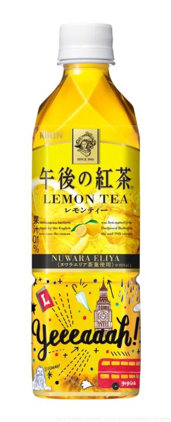 午後の紅茶 レモンティー 500ml ディズニーデザインラベル A表 (c)Disney